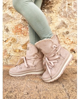 Botas Nordik color Beige
