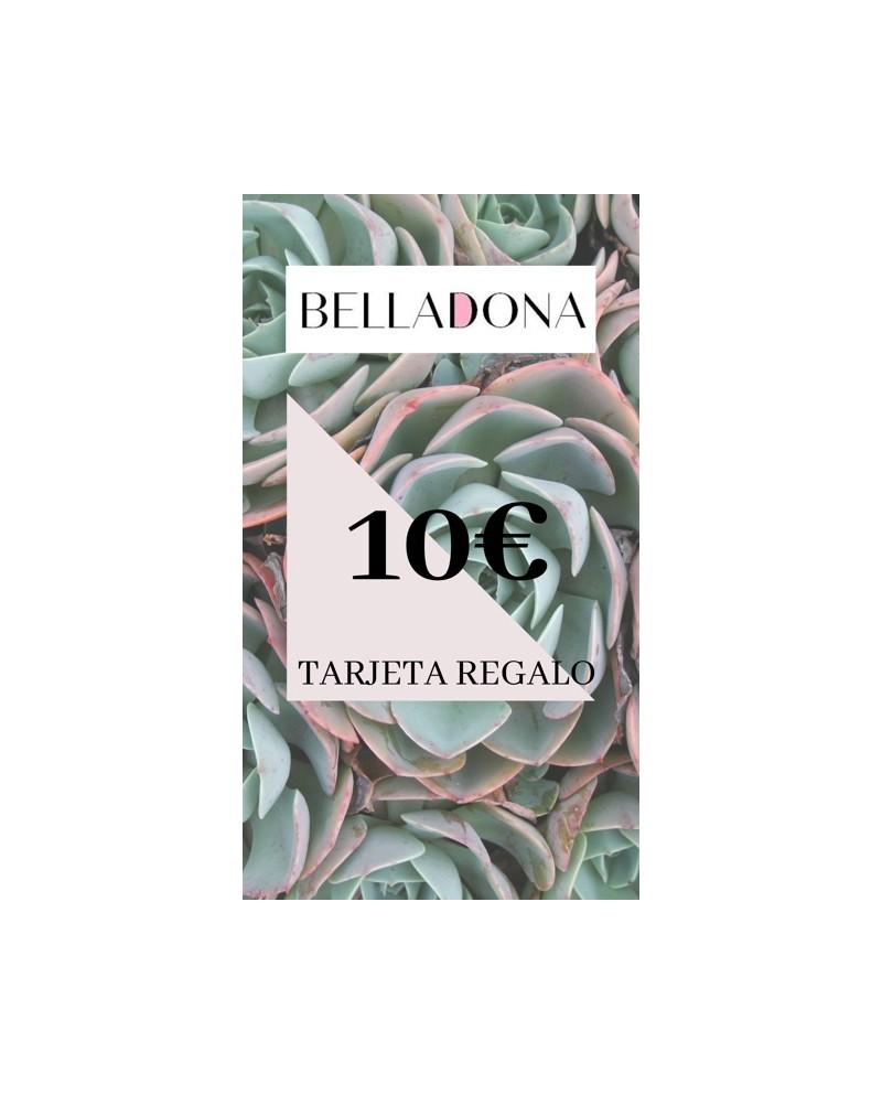 Targeta Regal Belladona 10, la millor opció per fer regals originals