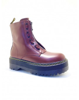botas militares plataforma mujer