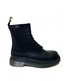 botes militars altes color negre