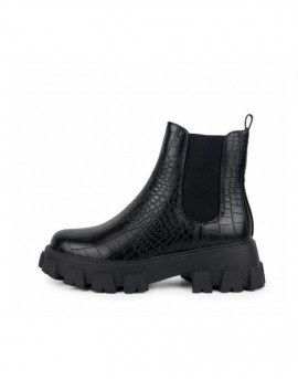 Botins plataforma estampat animal