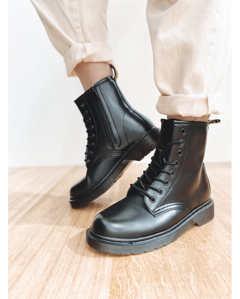 botas militares mujer martens