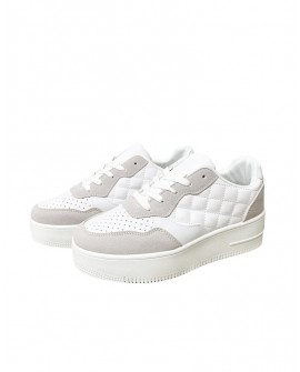 Sneakers plataforma dona blanques