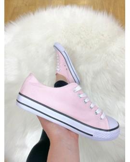 sneakers rosa mujer