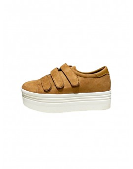 zapatillas velcro mujer plataforma