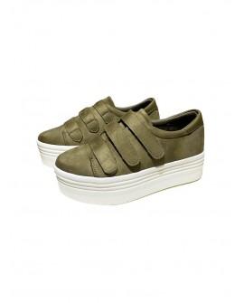 sneakers dona amb velcro