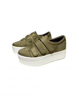sneakers velcro mujer
