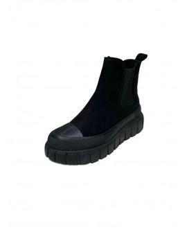 botas chelsea negras